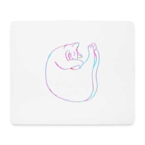 Schmusekatze - Mousepad (Querformat)