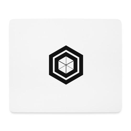 logo design 2 Noir png - Tapis de souris (format paysage)