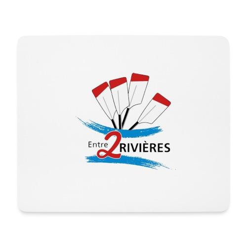 Entre 2 Rivières - Tapis de souris (format paysage)