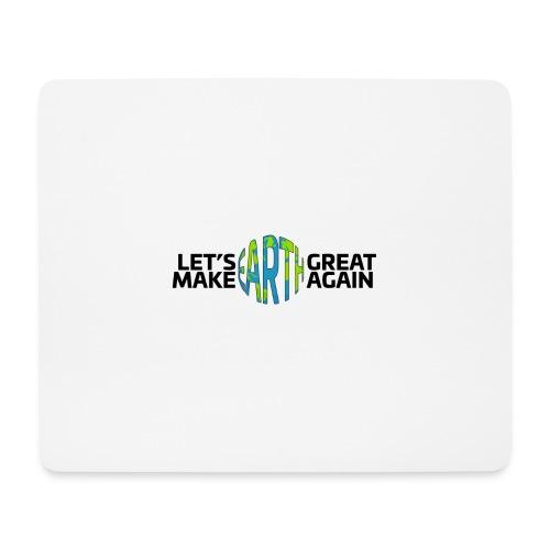 Let's Make Earth Great Again Banner - Musmatta (liggande format)
