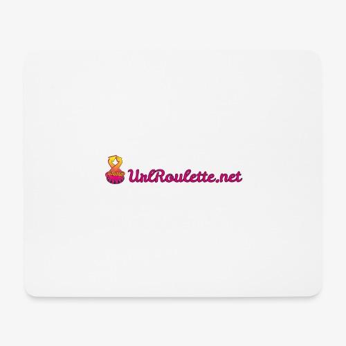 UrlRoulette Logo - Mouse Pad (horizontal)