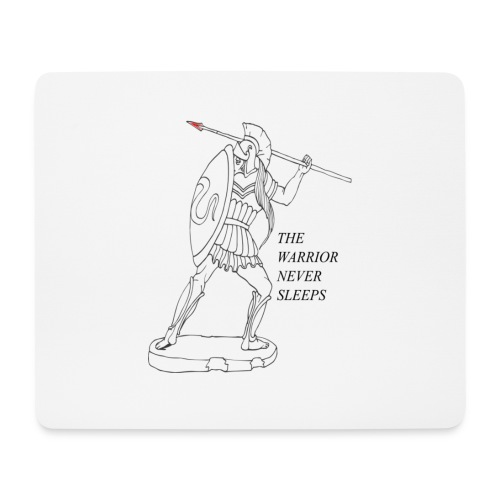 WARRIOR - Tappetino per mouse (orizzontale)