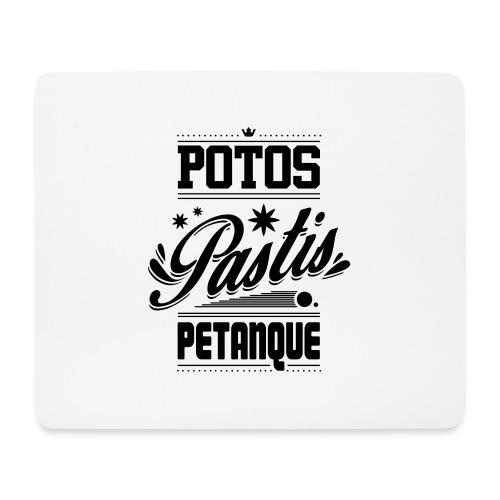 POTOS PASTIS PETANQUE - Tapis de souris (format paysage)