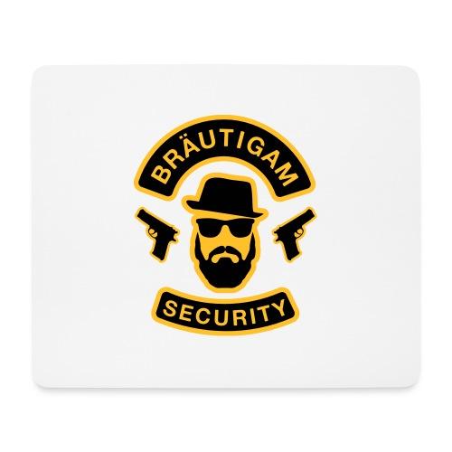 Bräutigam Security - JGA T-Shirt - Bräutigam Shirt - Mousepad (Querformat)