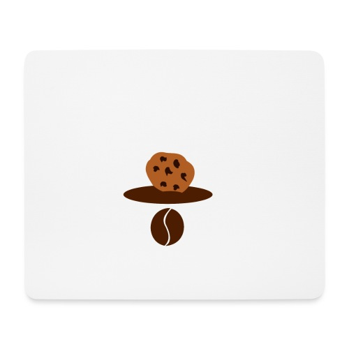 Cookies Kaffee Nerd Geek - Mousepad (Querformat)