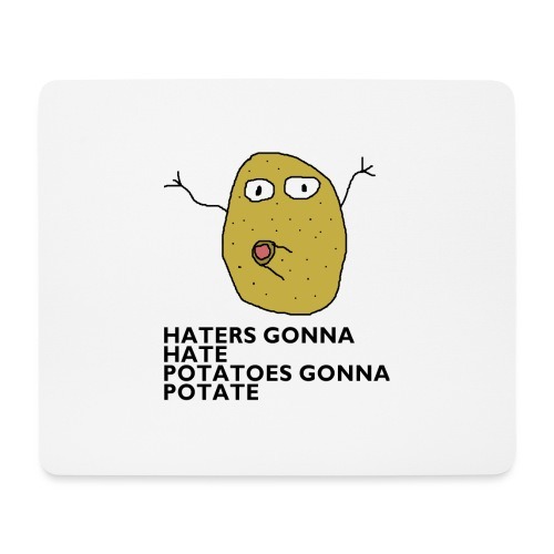 Haters gonna hate - Mousepad (Querformat)