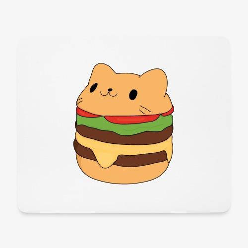 cat burger - Mouse Pad (horizontal)