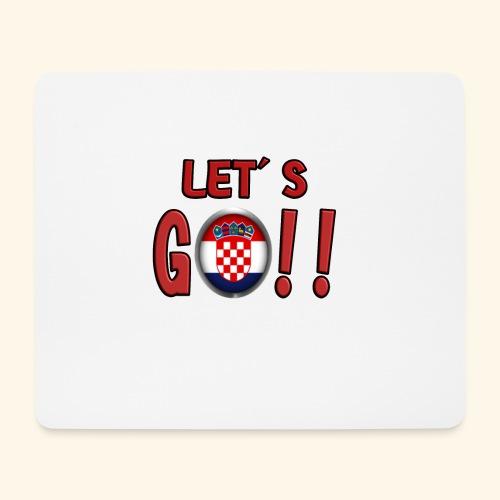 Go Croatia - Tappetino per mouse (orizzontale)