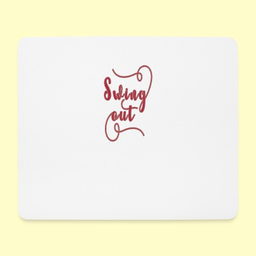 Swing Out Lindy Hop Vintage - Swing Retro - Mousepad (Querformat)