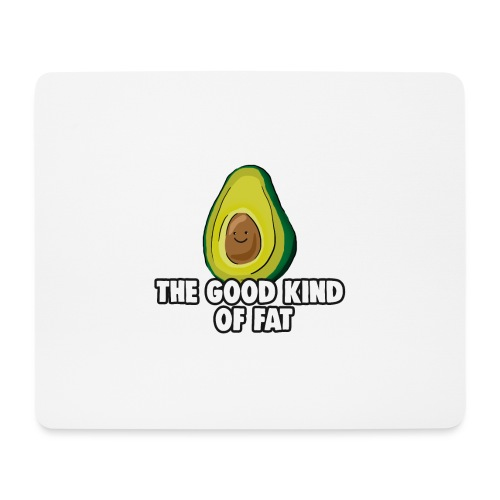 Avocado: The Good Kind of Fat - Mouse Pad (horizontal)