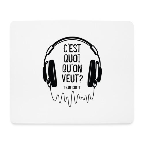 Team Cotty 2 - Tapis de souris (format paysage)