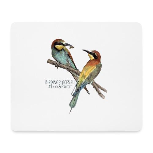 Bee-eater Birdingplaces - Mouse Pad (horizontal)