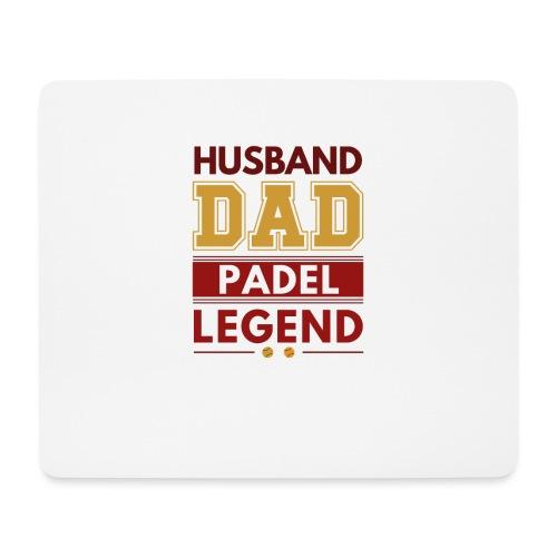 Man Pappa Padel Legend - Musmatta (liggande format)