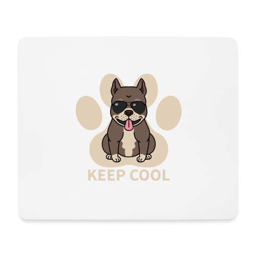 keep cool - Mousepad (Querformat)