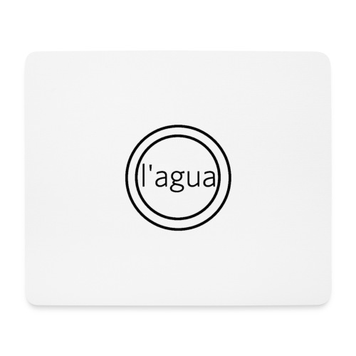 l agua black theme - Mouse Pad (horizontal)