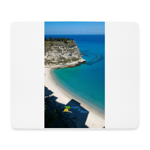 Tropea isola - Tappetino per mouse (orizzontale)