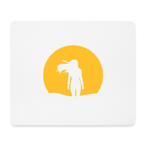 NACHTSONNE Nova - Mousepad (Querformat)