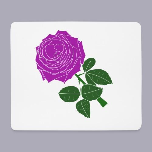 Landryn Design - Pink rose - Mouse Pad (horizontal)