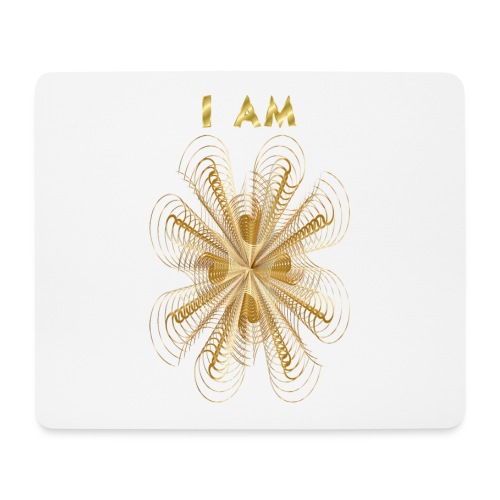 I AM - Tappetino per mouse (orizzontale)