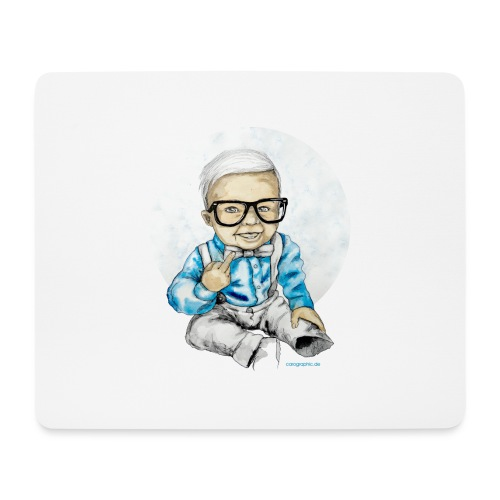 Naughty Boy, carographic - Mousepad (Querformat)