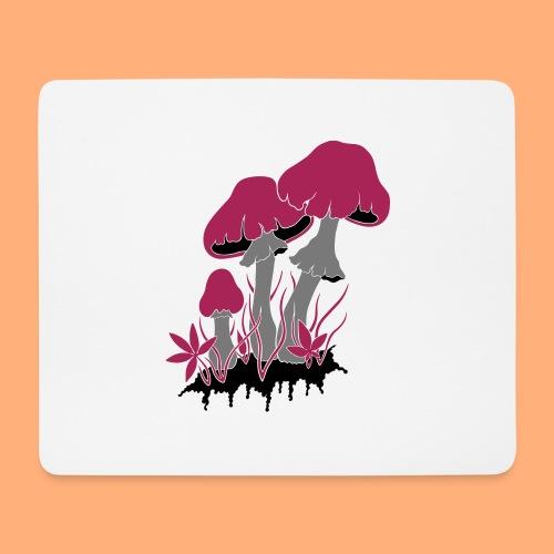 champignons - Tapis de souris (format paysage)