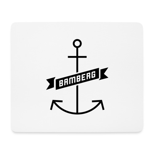 Bamberg Anker - Mousepad (Querformat)