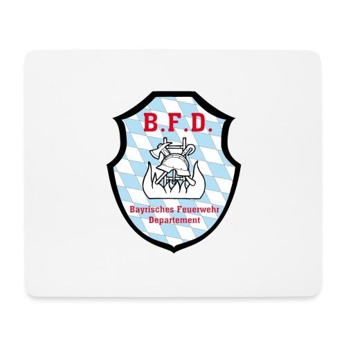 Inoffizielles bayrisches Feuerwehrabzeichen - Mousepad (Querformat)