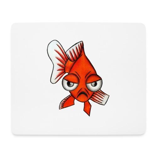 Angry Fish - Tapis de souris (format paysage)