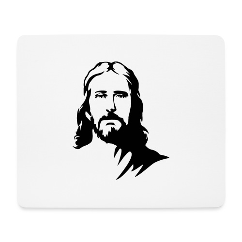 jesus - Tappetino per mouse (orizzontale)