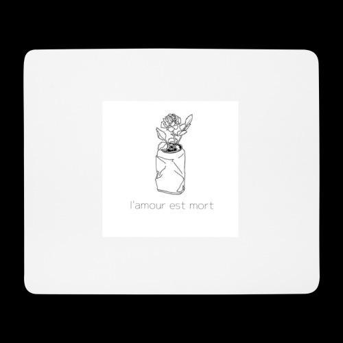 l'amour est mort - Tapis de souris (format paysage)