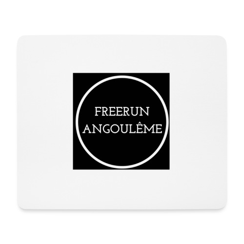 Freerun Angouleme noir logo - Tapis de souris (format paysage)