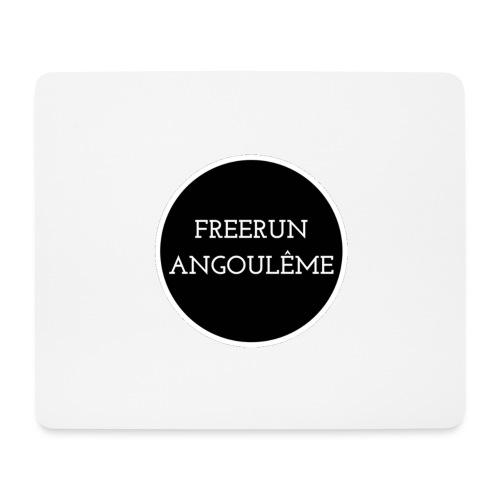 freerun noir logo - Tapis de souris (format paysage)