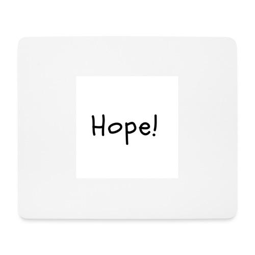 Hope - Alfombrilla de ratón (horizontal)