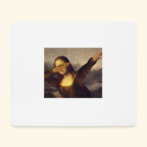 Monalisa Dab - Shirt & co - Mousepad (Querformat)