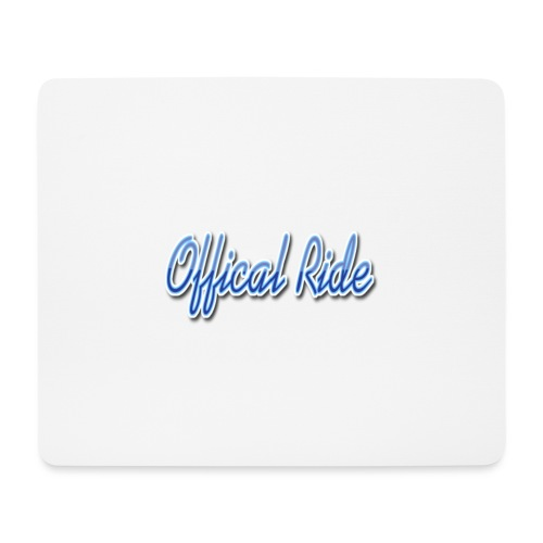 Offical Ride - Mousepad (Querformat)