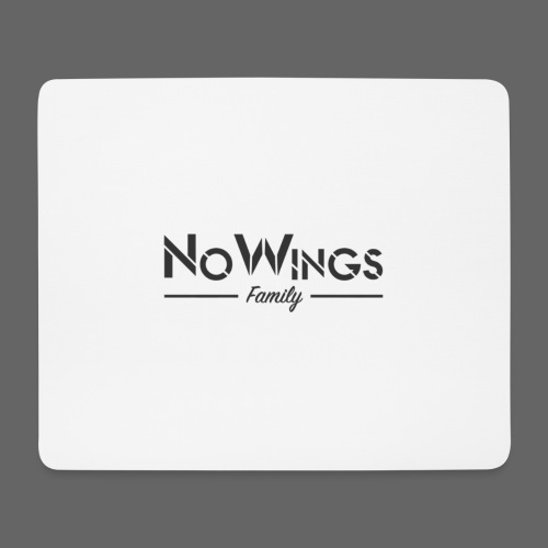 NoWings_Fam - Mousepad (Querformat)