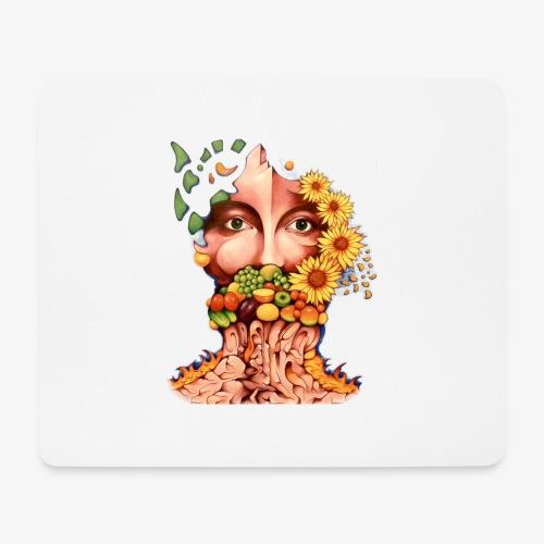 Fruit & Flowers - Mouse Pad (horizontal)