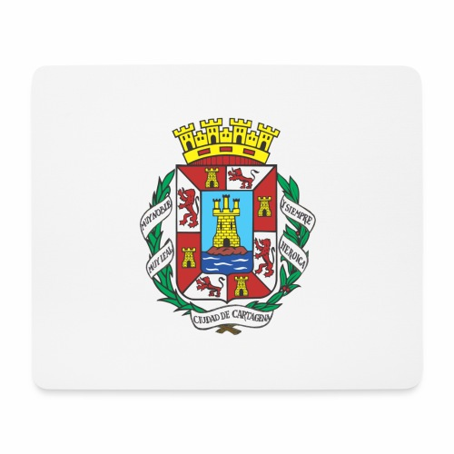 Escudo Cartagena - Alfombrilla de ratón (horizontal)