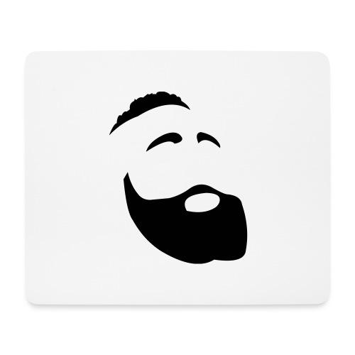 Il Barba, the Beard black - Tappetino per mouse (orizzontale)