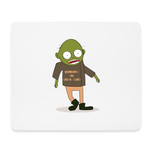 Zombie gourmand - Tapis de souris (format paysage)