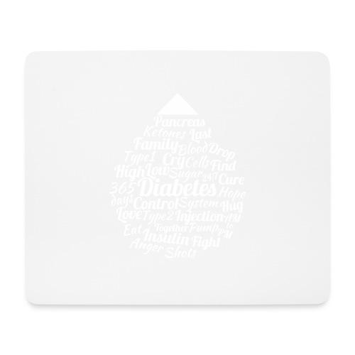 CURE DIABETES - Mouse Pad (horizontal)