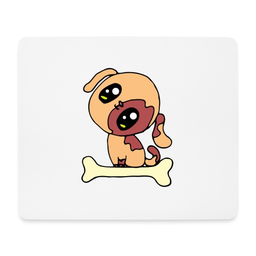 Kawaii le chien mignon - Tapis de souris (format paysage)