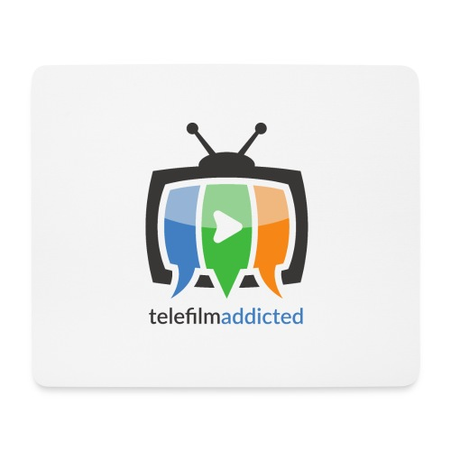 Telefilm Addicted Logo - Tappetino per mouse (orizzontale)