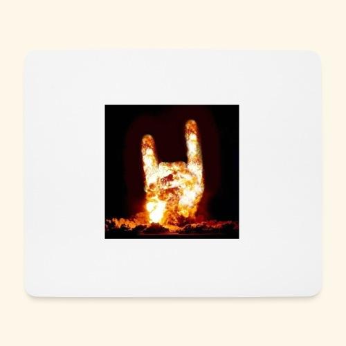 fingers bomb - Tapis de souris (format paysage)