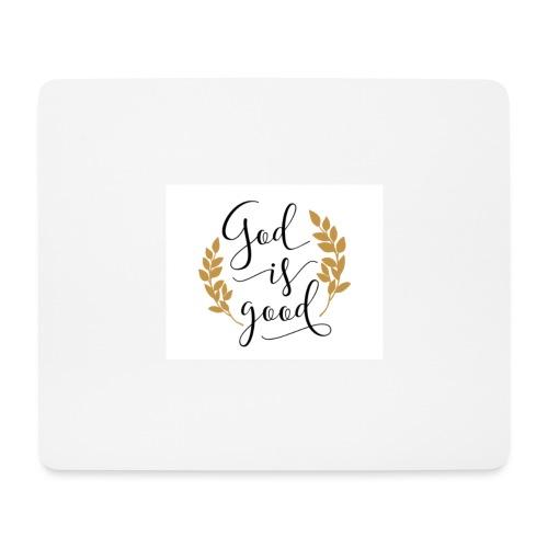 God is good label Jetzinger - Mousepad (Querformat)