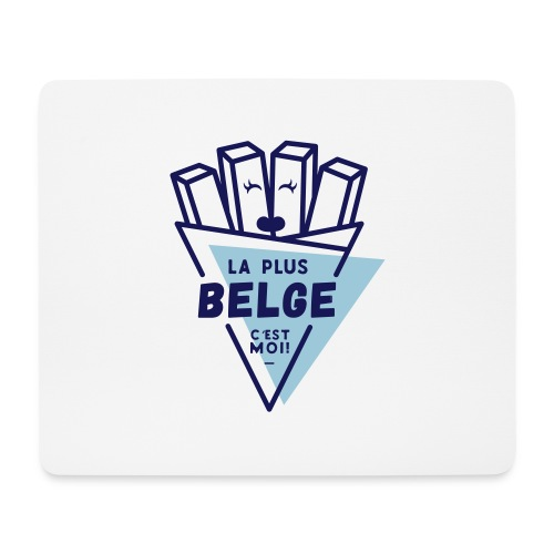 La+Belge - Tapis de souris (format paysage)