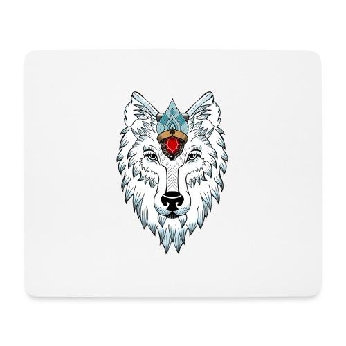 female wolf newschool - Tapis de souris (format paysage)