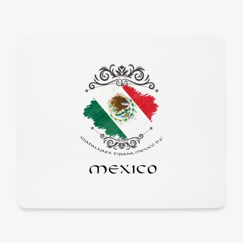 Mexico Vintage Bandera - Mousepad (Querformat)