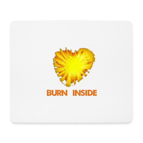 Burn inside - Tappetino per mouse (orizzontale)