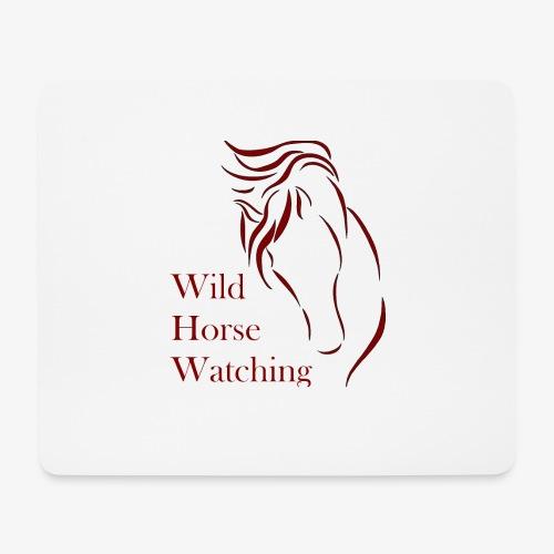 Logo Aveto Wild Horses - Tappetino per mouse (orizzontale)